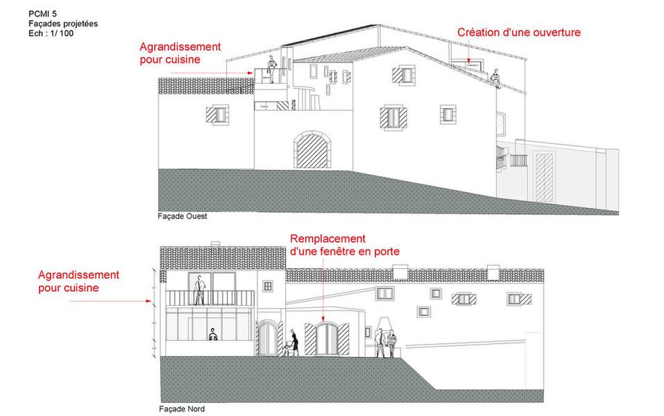 dessinateur b timent plan maison ossature bois permis. Black Bedroom Furniture Sets. Home Design Ideas